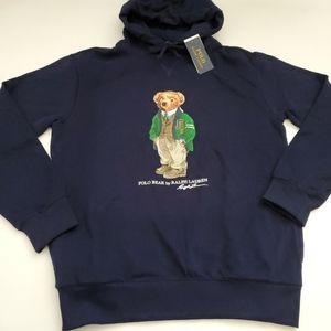 Polo Ralph Lauren Preppy Bear Sweatshirt Hoodie